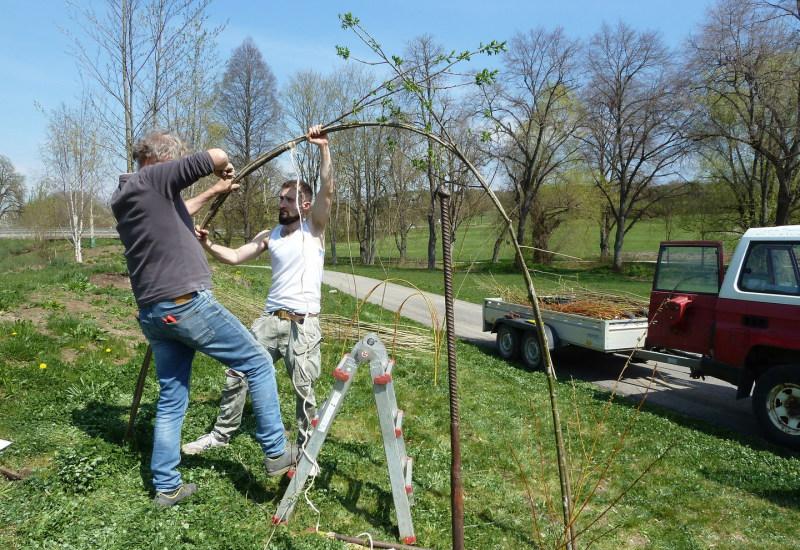 Projekt Himmelsstürmer der Jugendkunstschule Balingen