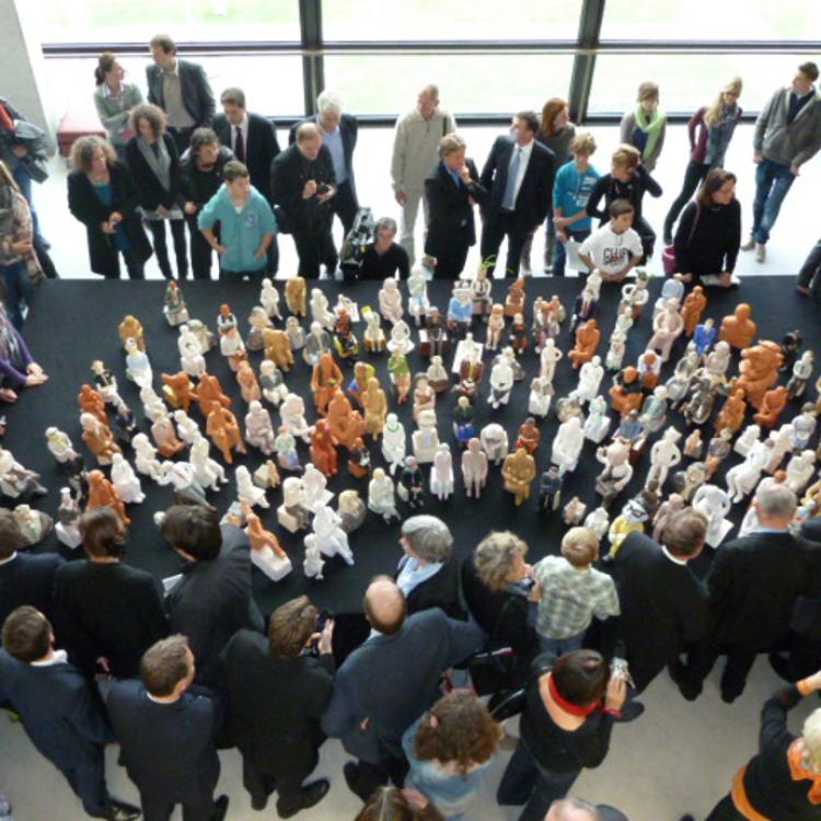 Der Landtag in Ton